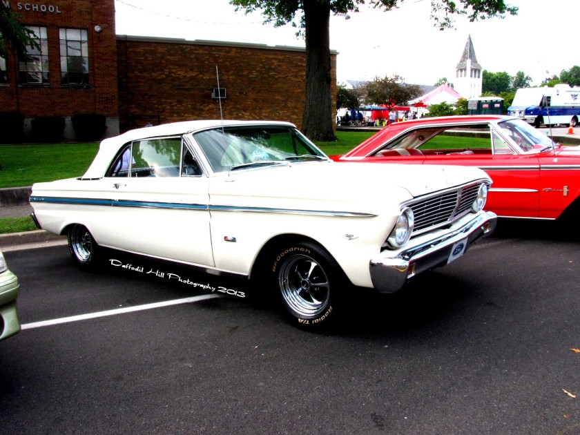 Here is a very sweet Falcon convertible.
