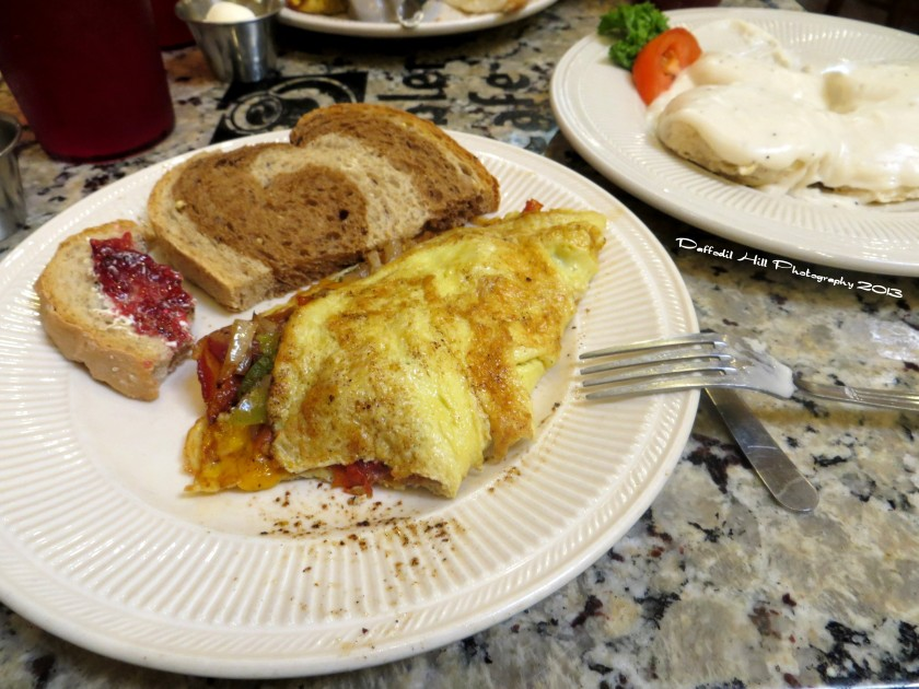 There is not to many better ways to start the day right than with a good breakfast. And it was good!