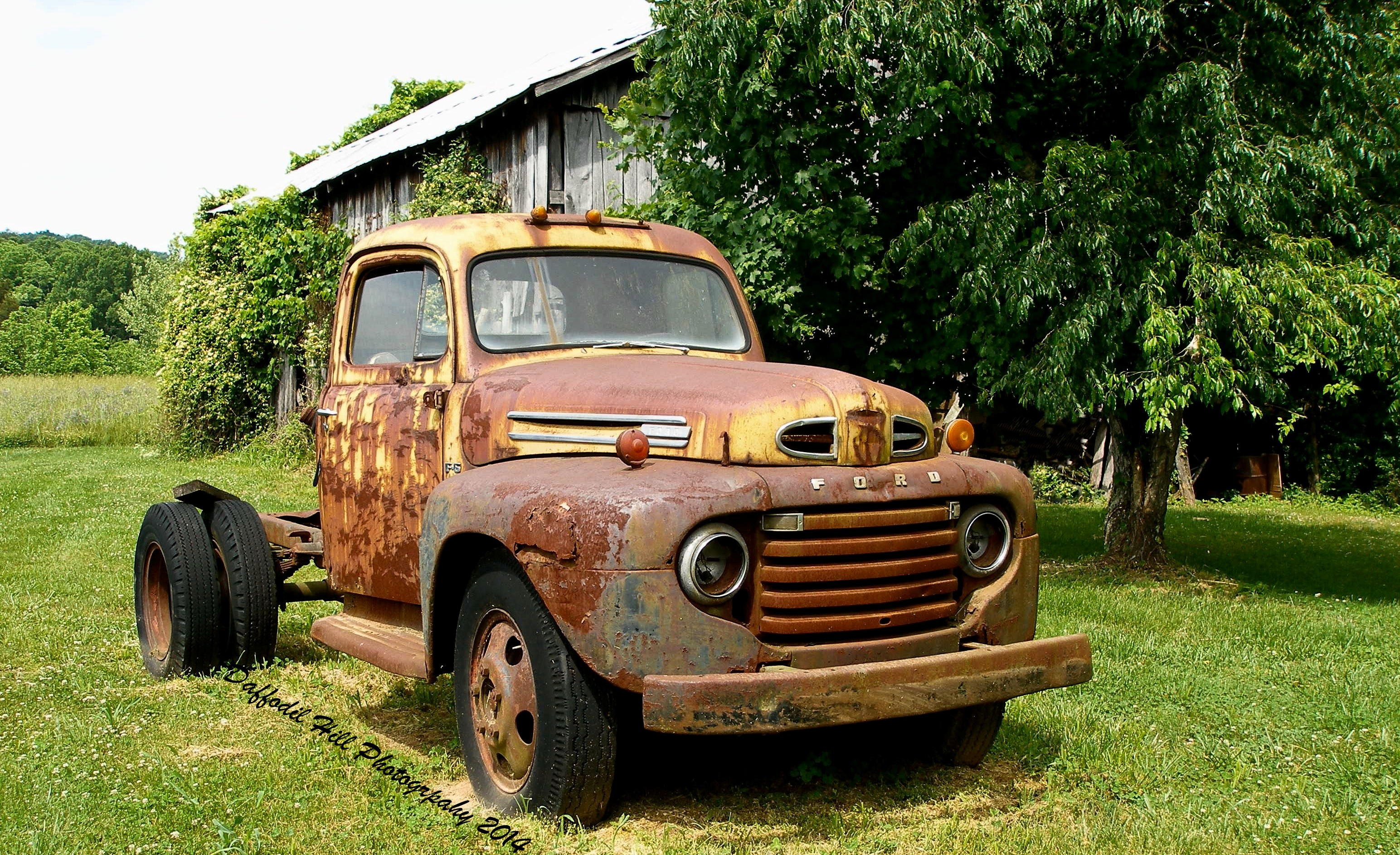 Old Rusty Ford Truck | www.pixshark.com - Images Galleries ...